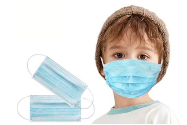3-Layer Face Mask - children